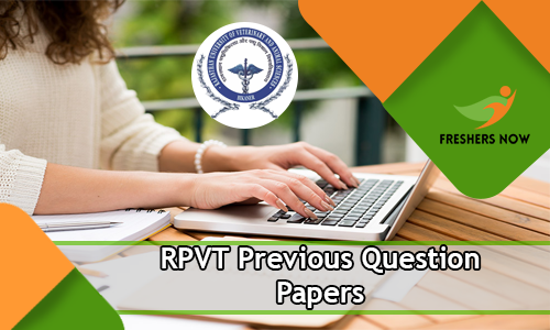 RPVT Previous Question Papers