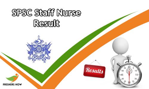 SPSC Staff Nurse Result