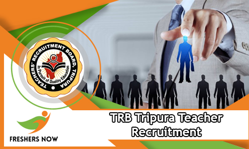 TRB Tripura Teacher Recruitment