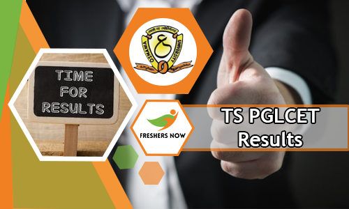 TS PGLCET Results