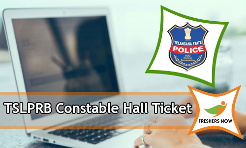 TSLPRB Constable Hall Ticket