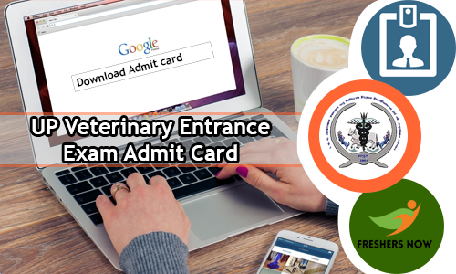 UP Veterinary Entrance Exam Admit Card