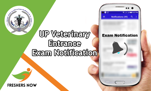 UP Veterinary Entrance Exam Notification