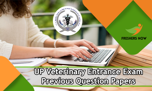 UP Veterinary Entrance Exam Previous Question Papers
