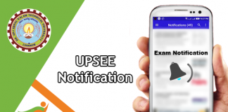 UPSEE Notification