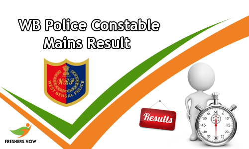 WB Police Constable Mains Result