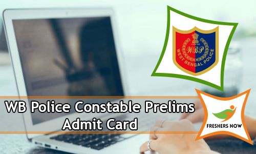 WB Police Constable Prelims Admit Card