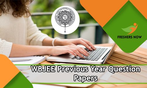 WBJEE Previous Question Papers