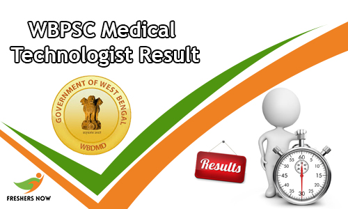 WBPSC Medical Technologist Result