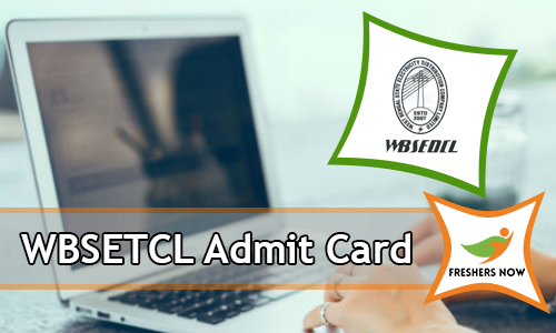 WBSETCL Admit Card