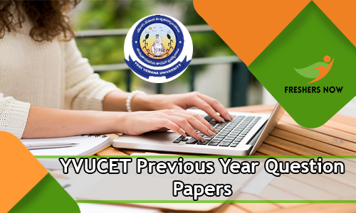 YVUCET Previous Year Question Papers