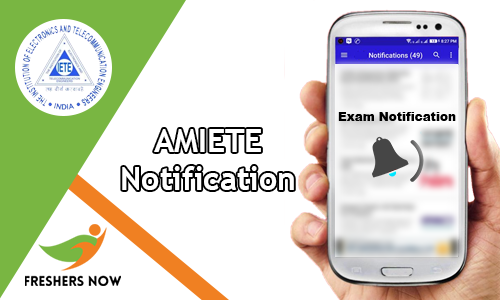 AMIETE Notification