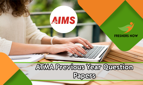 ATMA Previous Year Question Papers