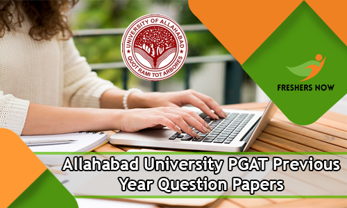 Allahabad University PGAT Previous Year Question Papers
