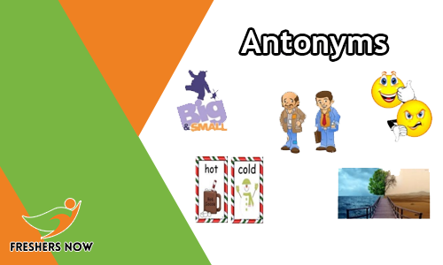 Antonyms - English Questions and Answers Quiz Online Test