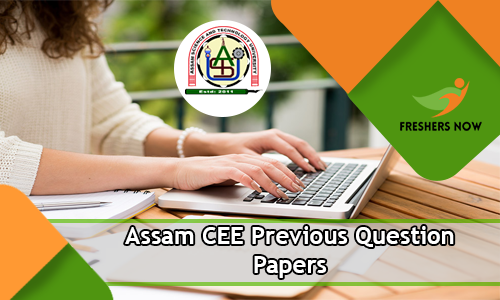 Assam CEE Previous Question Papers