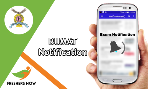 BUMAT Notification
