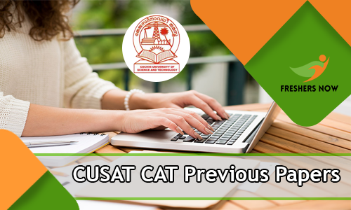CUSAT CAT Previous Papers