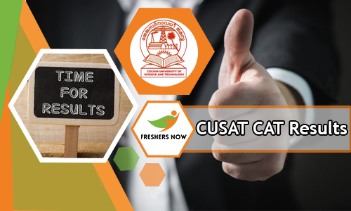 CUSAT CAT Results