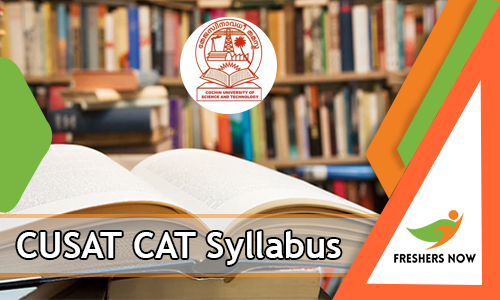 CUSAT CAT Syllabus