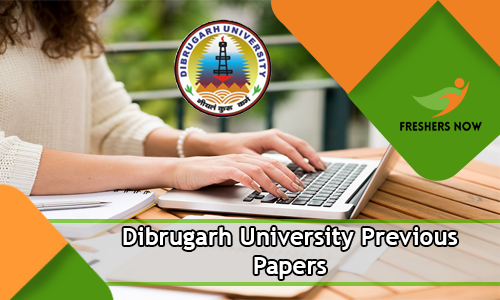 Dibrugarh University Previous Papers