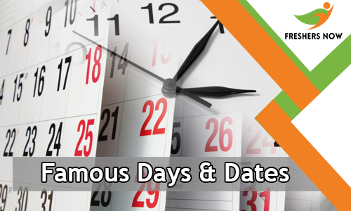 Famous Days and Dates Quiz