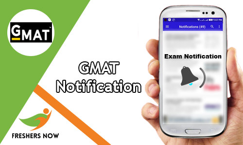 GMAT Notification