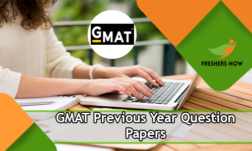 GMAT Previous Year Question Papers