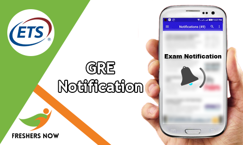 GRE Notification