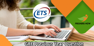 GRE Previous Year Question Papers