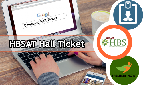 HBSAT Hall Ticket