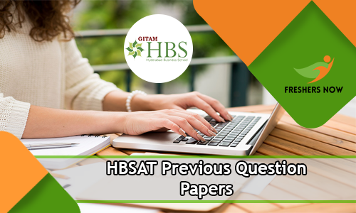 HBSAT Previous Question Papers