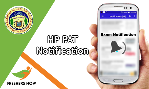 HP PAT Notification