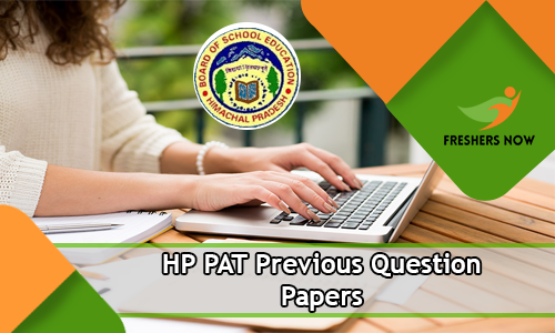 HP PAT Previous Question Papers