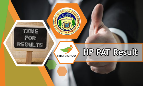 HP PAT Result
