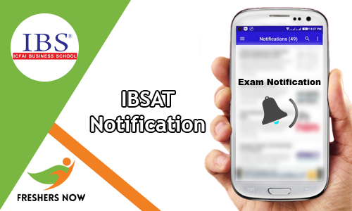 IBSAT Notification