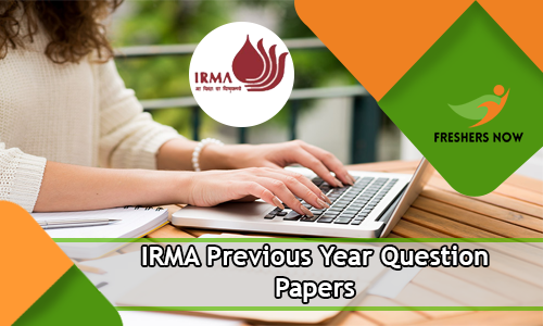 IRMA Previous Year Question Papers