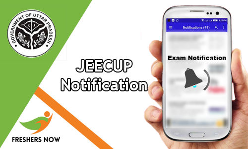 JEECUP Notification