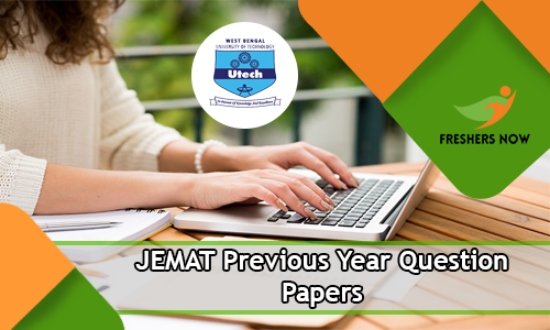 JEMAT Previous Year Question Papers