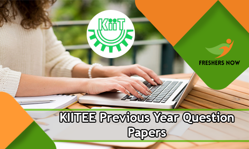 KIITEE Previous Year Question Papers
