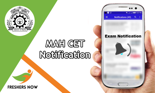 MAH CET Notification