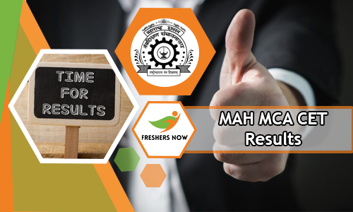 MAH MCA CET Results