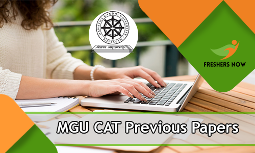 MGU CAT Previous Papers