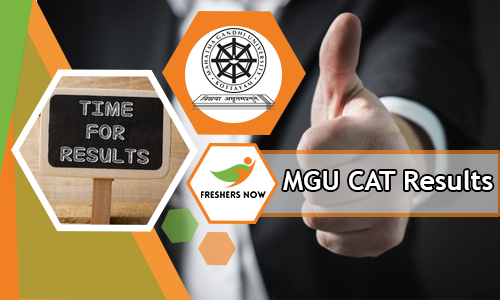 MGU CAT Results