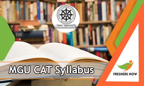 MGU CAT Syllabus