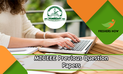 MZUEEE Previous Question Papers