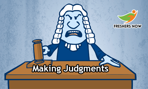 Making Judgments