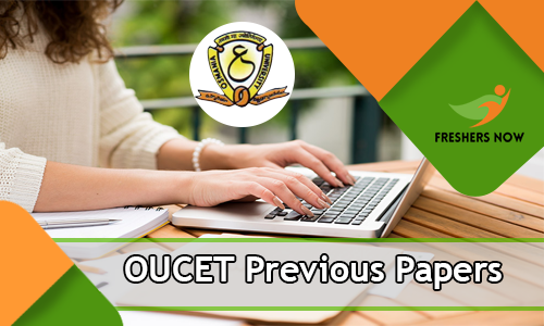 OUCET Previous Papers PDF Download - OU Common Entrance Test Model