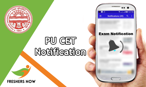 PU CET Notification
