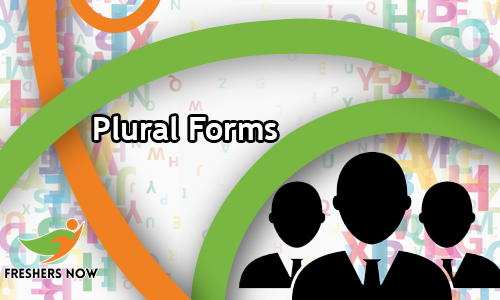 Plural Forms English Questions And Answers Quiz Online Test